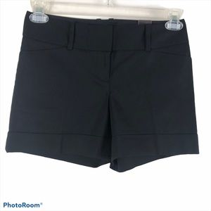 NWT The Limited Black Drew Fit Shorts Size 2
